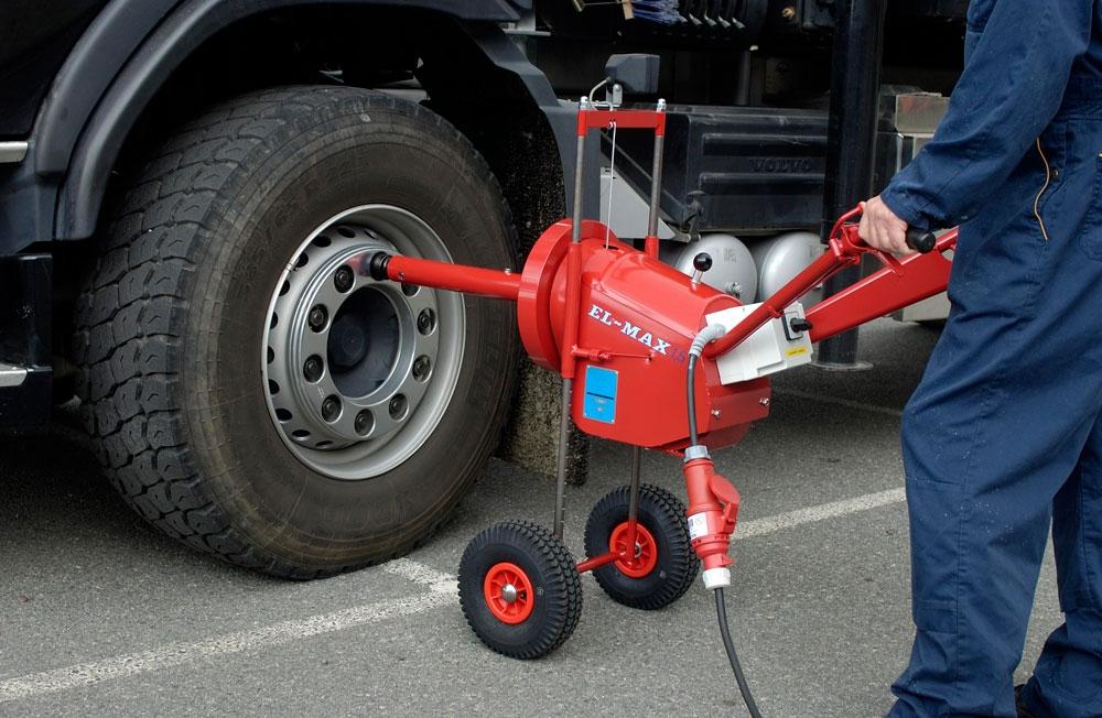 Kanon ELMAX NUTTRUNNER Mutterdragaren för tunga fordon - Olanders SR-48